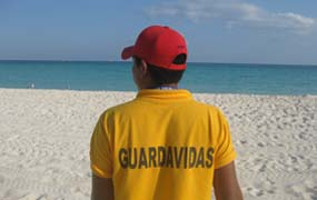 picture of Life Guard in Playa del Carmen