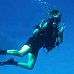 picture of Rescue Diver student with Scuba Libre