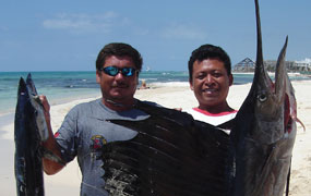 picture of fishing trip with Scuba Libre