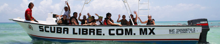 picture of snorkeling with Scuba Libre in Playa del Carmen